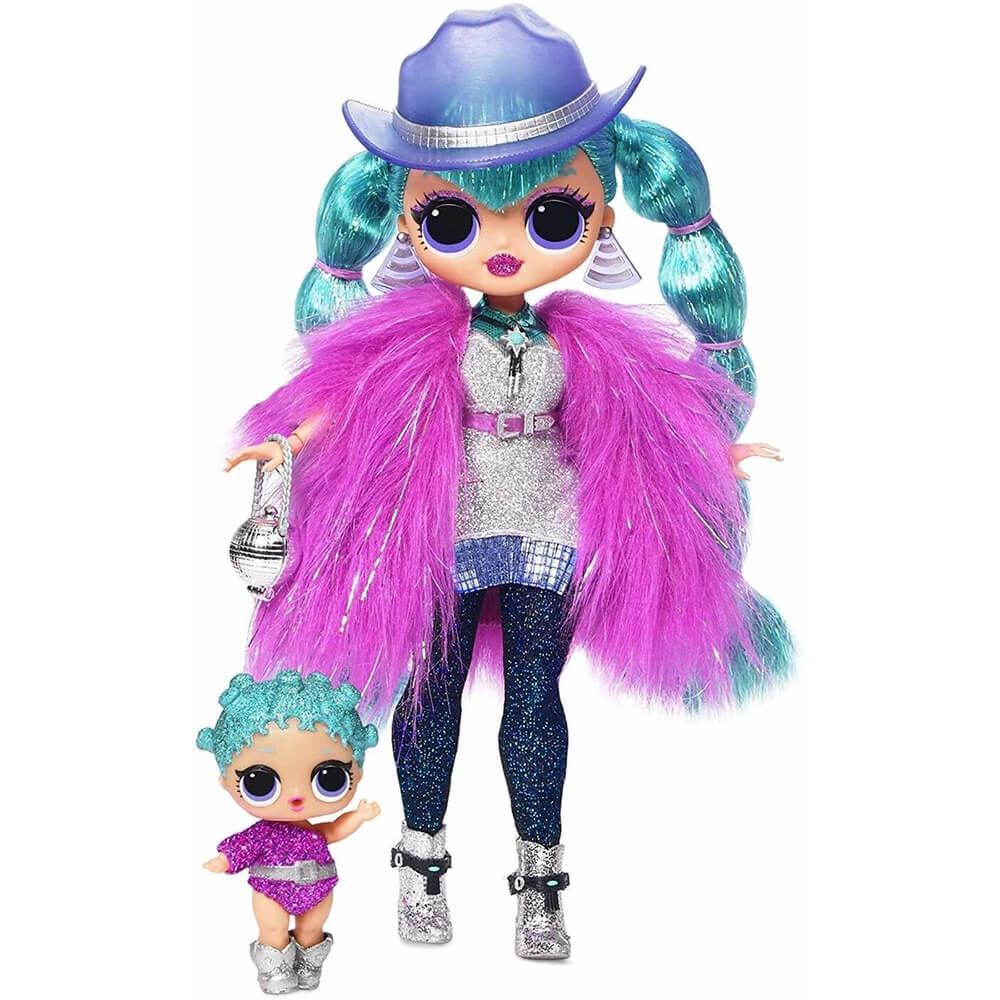 Кукла LOL Surprise OMG Winter Disco Cosmic Nova And Cosmic Queen с 25 сюрпризами - 5